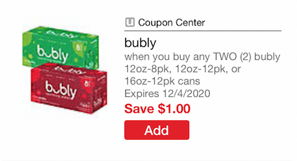 bubly_Sparkling_Water_Coupon