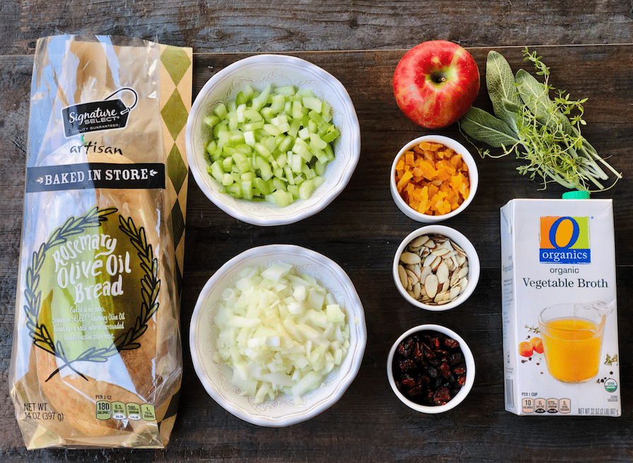 cranberry_Apple_Sage_Stuffing_ingredients