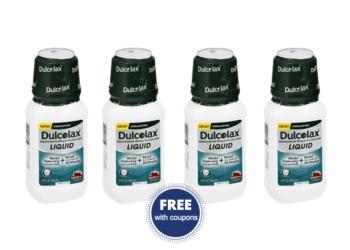 FREE Dulcolax Liquid Laxative at Safeway