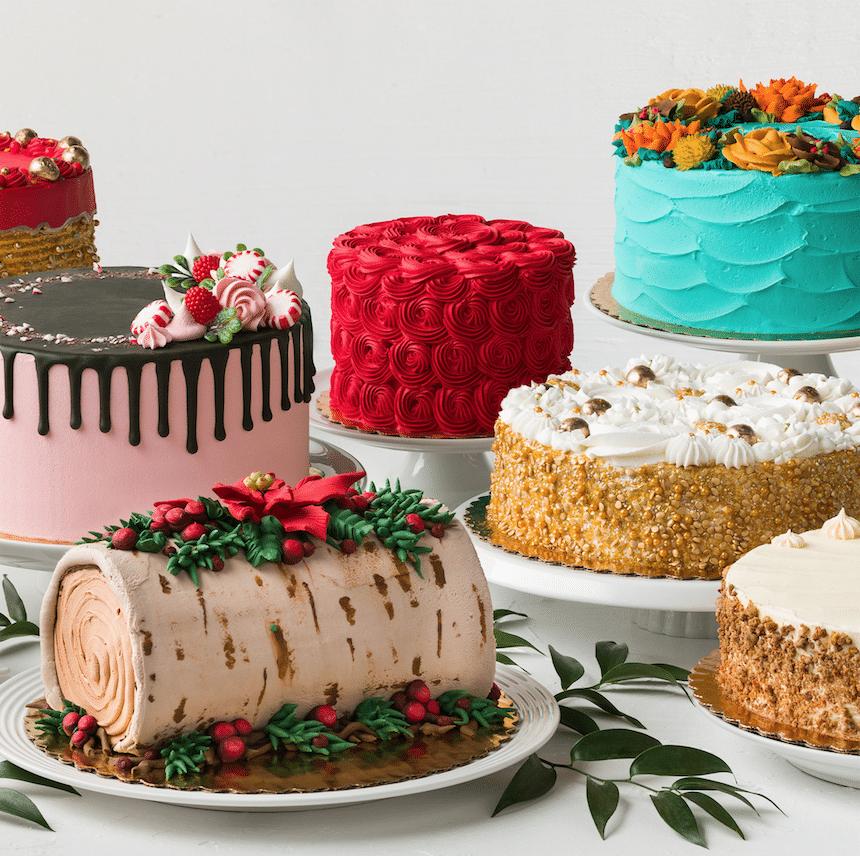 safeway_bakery_Holiday_Cakes