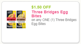 three bridges egg bites coupon