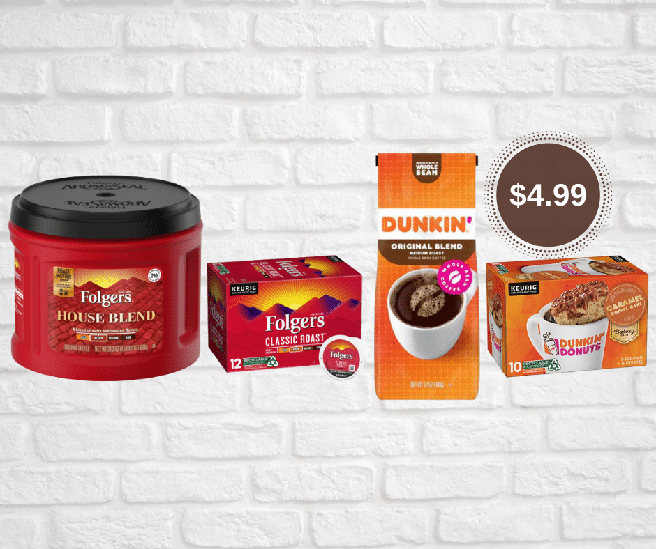 Folgers Coffee Coupons