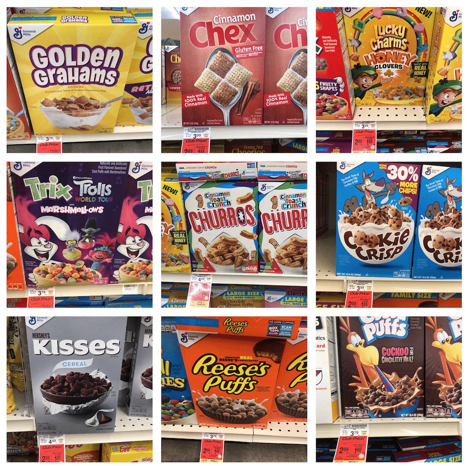 General_mills_Cereal_Sale