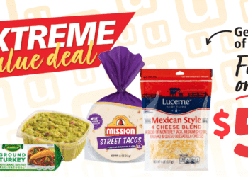 $5 Extreme Value Meal Deal at Safeway – Save 67% on Tacos and Guacamole
