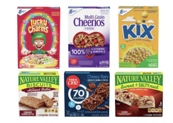 General Mills Cereals, Nature Valley and Fiber One Bars Just $1.19 Each (Save 73%) at Safeway