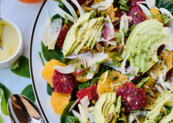 Orange and Fennel Salad With Avocados