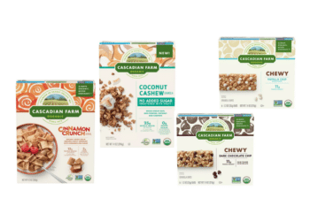 Save 58% on Cascadian Farm Organic Granola and Snack Bars at Safeway