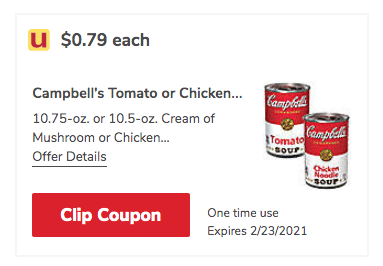 Campbells condensed soup coupon