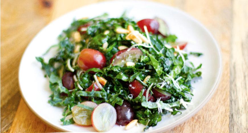 Kale& Grape Salad