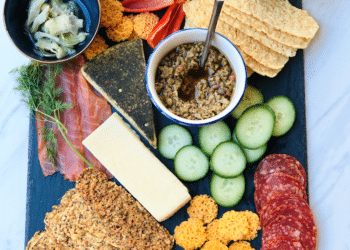 Epic Keto Charcuterie Board for Low Carb Snacking