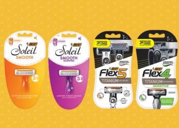 FREE BIC Flex or Soleil Disposable Razors at Safeway