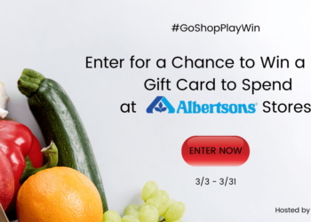 Enter to Win One of 65 $100 Safeway Gift Cards from Savings.com