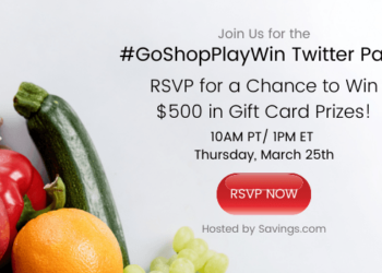 Join Safeway Monopoly #GoShopPlayWin Twitter Party March 25th & Enter to Win $500 in Safeway Gift Cards