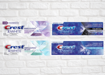 FREE Crest Brilliance 3D White Toothpaste and $.99 Crest 3D White Toothpaste at Safeway