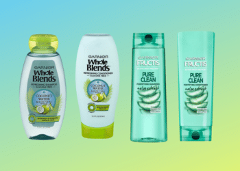 $.50 Garnier Whole Blends and Fructis Hair Care Products at Safeway
