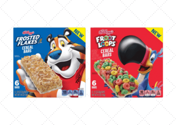 NEW Kellogg's Cereal Bars – Frosted Flakes and Froot Loops Cereal Bars Just $1.24 at Safeway