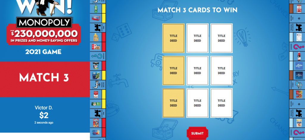 safeway_monopoly_online match_win_Game