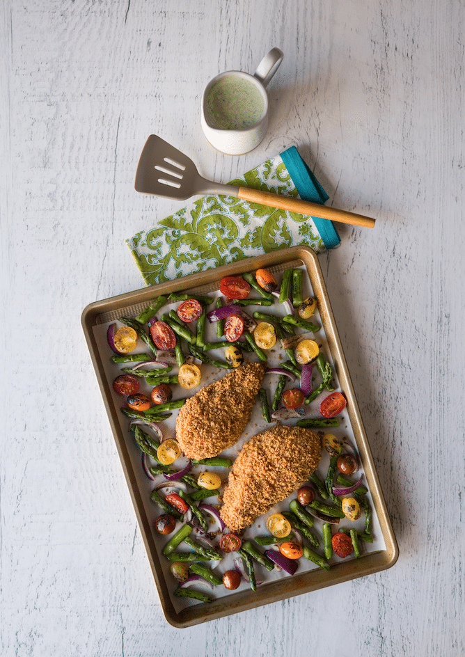 sheet_pan_Almond_Crusted_Chicken