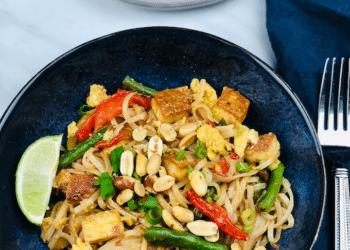 Tofu Pad Thai Featuring NEW Signature SELECT Thai-Style Peanut Sauce