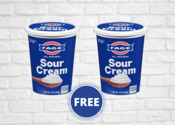 2 FREE FAGE Sour Cream Tubs at Safeway