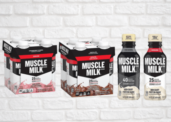 Muscle Milk Protein Shakes 4 Packs Just $3.99 – PRO 40 Mega Shake Just $.99 at Safeway