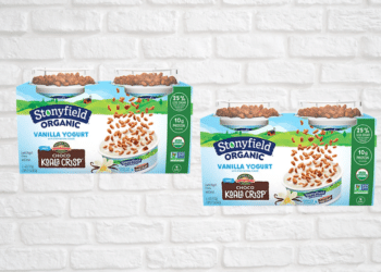 Stonyfield Kids Toppers Yogurt Cups Just $.75 Each Cup at Safeway