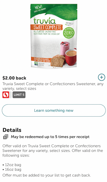 truvia_Sweet_Complete_Coupon