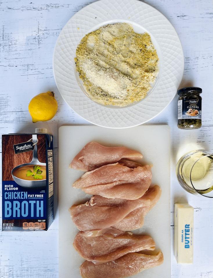 keto_Chicken_piccata_ingredients