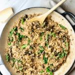 keto_cauliflower_Risotto_asparagus_mushroom