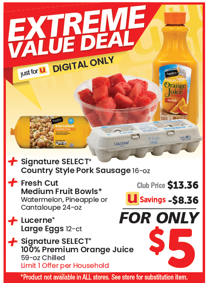 safeway $5 extreme value deal