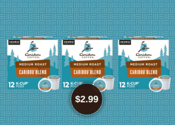 Caribou Coffee K Cups Just $2.99 at Safeway