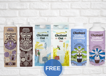 FREE Chobani Oat Milk, Cold Brew Coffee and Coffee Creamer at Safeway