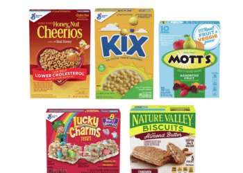 General Mills Fruit Snacks, Cereal and Snacks As low as $1.38 a Box at Safeway