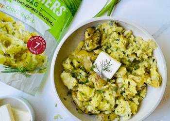NEW Green Giant Minute Mashers Potatoes, Delicious Smashed Potatoes in 7 Minutes