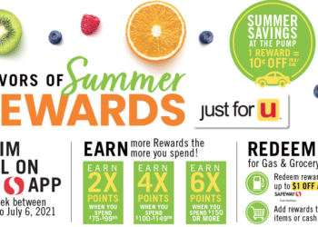 Flavors of Summer Rewards – Get up to 6x Gas and Grocery Reward Points at Safeway