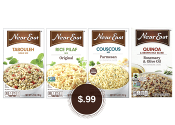 Near East Rice, Couscous, and Quinoa Sides Just 99¢ at Safeway