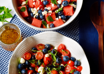 Red, White & Blue Salads