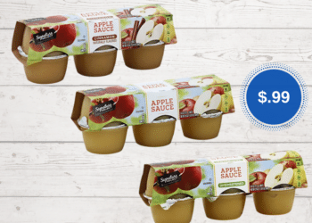 Signature SELECT Applesauce Cups 6 Ct. Just $.99 at Safeway