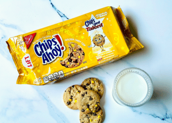 $.49 Chips Ahoy! Golden Candy Chip Cookies