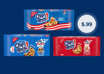 Chips Ahoy! Cookies Just $.99 at Safeway