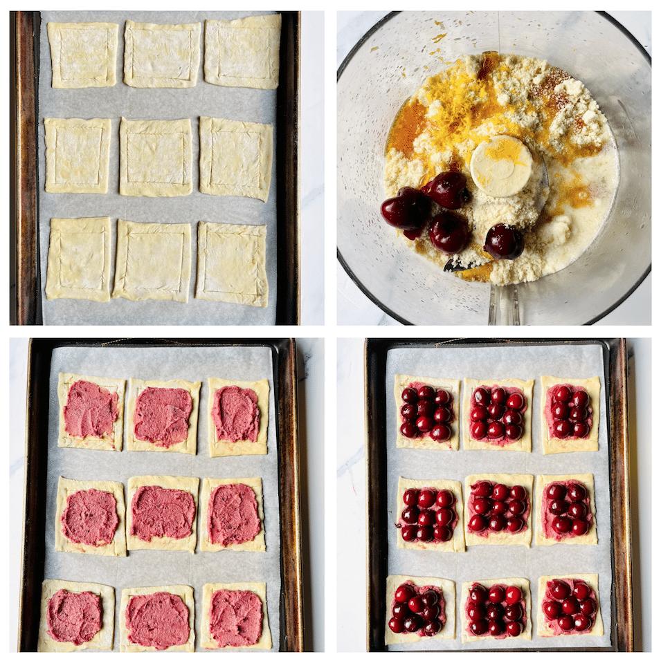 how_to_make_Cherry_almond_tart