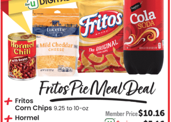 $5 Extreme Value Meal Deal at Safeway – Save on Fritos Pie
