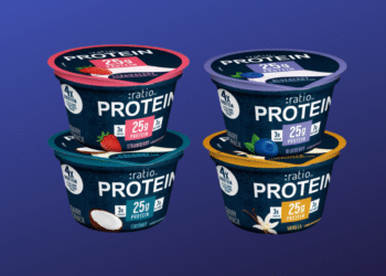 NEW :ratio PROTEIN Yogurt – 25 grams of Protein Per Cup, Try for $.52 Each at Safeway