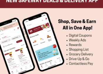 NEW Safeway Deals and Grocery Delivery App