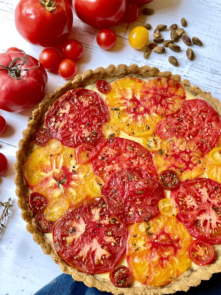 tomato_tart_Goat_Cheese_Recipe