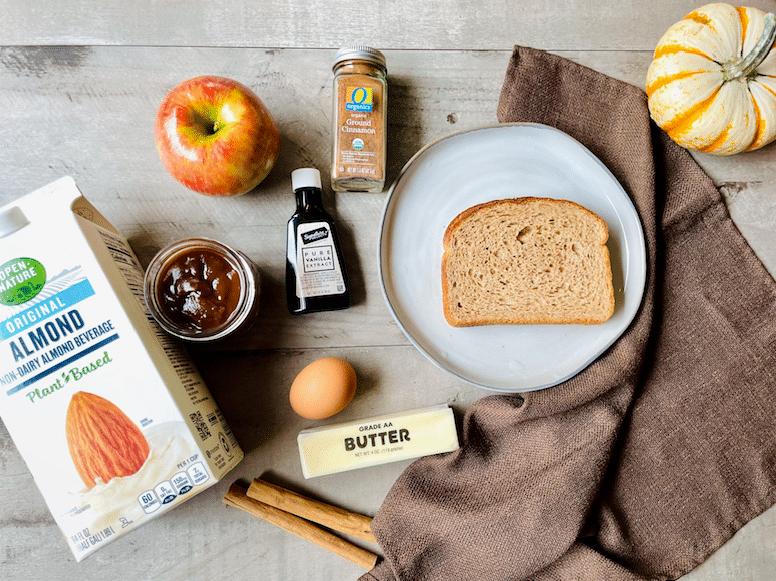 apple_butter_French_Toast_ingredients