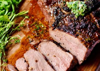 The Best Grilled Tri-Tip Steak