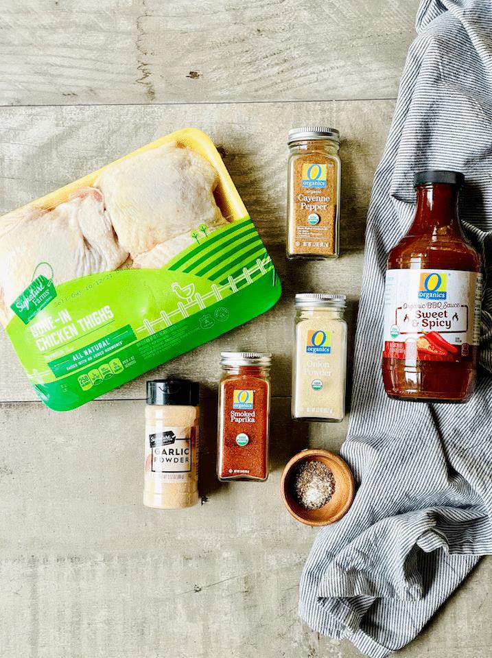 air_Fryer_Chicken_Thighs_ingredients