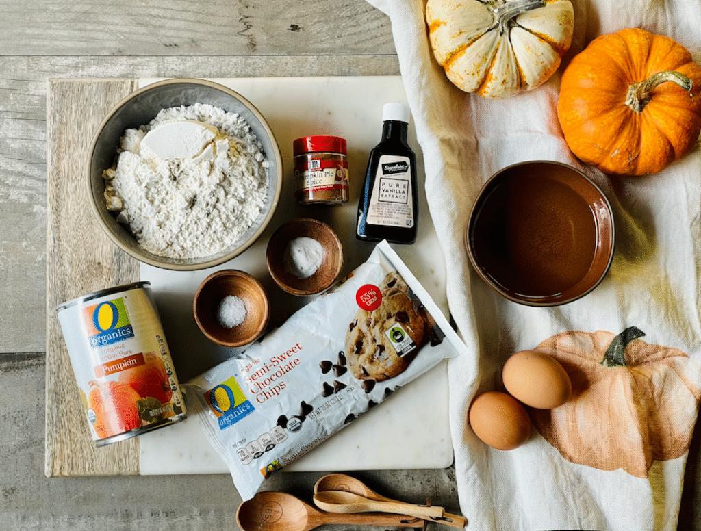 ingredients_in_healthier_pumpkin_bread